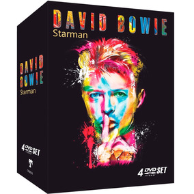 David Bowie - Starman - Box Com 4 Dvds