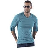 Camibuso Adulto Masculino Marketing Personal 15490 Azul