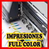 Impresion En Hojas Blanca Full Color