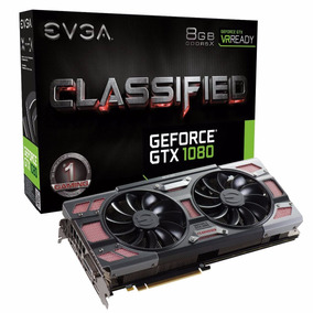 Placa De Vídeo Evga Geforce Gtx 1080 Classified Dt 8gb Gddr5