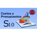 S10 Programa Para Presupuesto