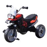 Moto 3 Llantas De Goma Y Pedales Rojo - M0318