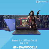 Laptop Hp Amd Quadcore A10-9600p 16gb Ram 3,3 Ghz