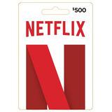 Tarjeta Gift Card Neflix De 500 Pesos