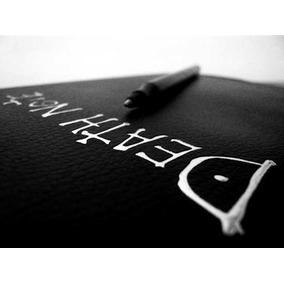 Libreta Death Note Cuero Y Reloj De Collar