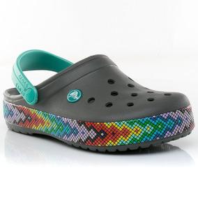 Zuecos Sandalias Crocband Slate Crocs