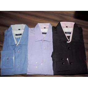Kit C/ 3 Camisas Social Masculina Importada Frete Grátis