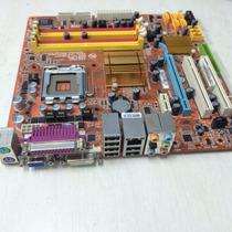 Kit Placa Mãe Ddr2 + Memória + Processador + Frete Grátis!