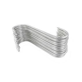 Gancho Açougue Aço Estanho S3 Medida 1/4 X 18 Cm (1 Dz)