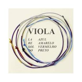 Jogo De Cordas Para Viola De Arco Mauro Calixto***