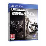 Rainbow Six Siege Ps4 Fisico Sellado 100%nuevo