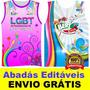 Vetor Abadás Editáveis Corel X5 Carnaval Camisas Vetorizados