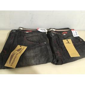 Calça Jeans Tropical Brasil Tam 44 E 42 Novo Liquidando