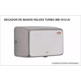 Secador De Manos Helvex Acero Inox Mb-1012-ai Hand Dryer