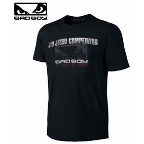 Camiseta Bad Boy Competidor Jiu Jitsu Preta