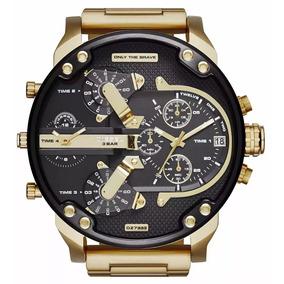 78f88aa4a02 Relogio Diesel Dourado Dz 4268 Masculino - Relógios De Pulso no ...