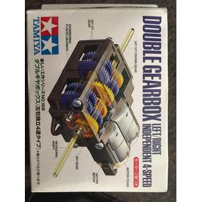 Tamiya Double Gear Box Y Off-road Tires Motor Modelismo Robo