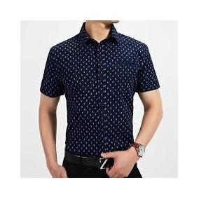 Camisas Casuales De Hombre Slim Fit