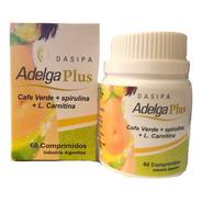 Adelga Plus Dasipa 60 Comprimidos Natural Para Bajar De Peso