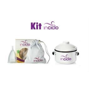 Kit Coletor Menstrual Inciclo A + Panelinha Inciclo