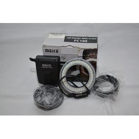 Ring Flash Fc-100 Con Adaptador Para Nikon Canon Olympus