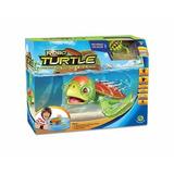 Robo Turtle - Tartaruga Robotica + Aquario + Rocha - Dtc