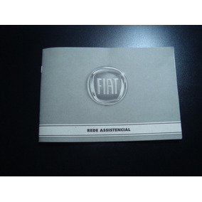 Manual Livrete Assistência Técnica Fiat Ano De 2008