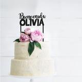 Cake Toppers Adorno Tortas Personalizado Baby Shower Nacimie