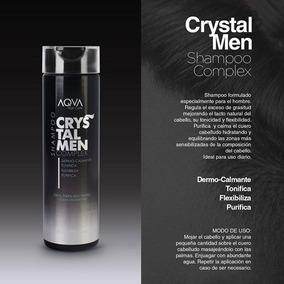 Crystal Men Shampoo Complex Purifica Anti Graso