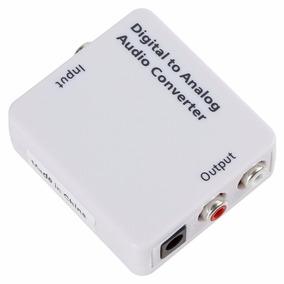 Adaptador Optico Rca Coaxial Audio Home Theater Micro System