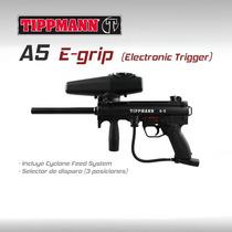 Tippmann A5 Egrip Marcadora Gotcha Paintball Rifle Pistola