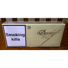 Cigarrillos Davidoff Gold Slim Import. 10 Box De 20 Lleno!!