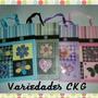 Bolsas Regalo Medianas 3d Flores Mariposas Al Mayor Escarcha