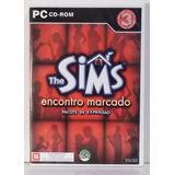 Jogo Pc Em Cd The Sims - Encontro Marcado Pacote De Expansão