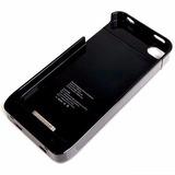 Capa Case Bateria Externa Iphone 4/4s Ultra Slim/ Preto
