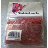 Mostacilla N11 50gr Color Rojo