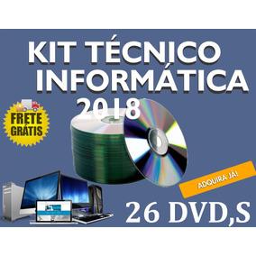 Kit Técnico Informática 2018 Frete Grátis