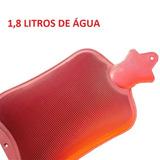 Bolsa Termica Compressa Água Quente Fria Dor Colica 1800ml