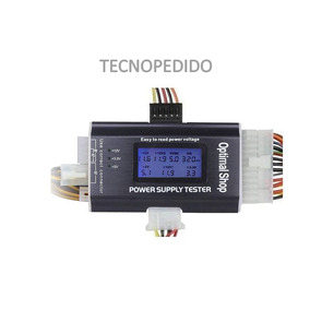 Tester Mother Power Supply Display Lcd De Tensiones