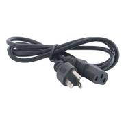 Cable De Poder Para Fuente/ Impresora/ Cpu/ Monitor  1.5 Mts