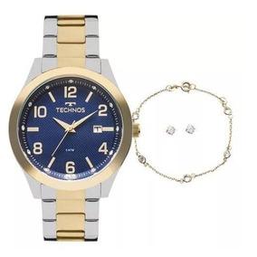 7764b0df0b6 Relógio Feminino Technos Pulseira De Aço 6p89hw 1m - Relógios De ...