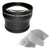 Canon Powershot Sx30 Is 2.2x High Definition Telephoto Lens