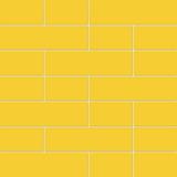Ladrilho Cerâmico Tijolinhos Amarelo (caixa Com 4 Placas)