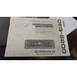 Manual De Instruções Equalizador Pioneer Eq 9200