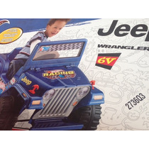 Jeep Azul Hot Wheels Power Wheels Electrico Fisher Price
