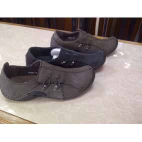 Zapatos Fly-ker Tipo Clark Solo Talla 40 Marron Oscuro
