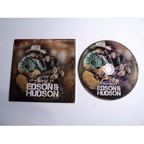 Cd Original - O Melhor De Edson E Hudson - Promo