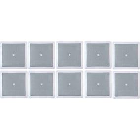 10 Arandela Selenium Quadrada 6 Polegadas 25w - 6co1q Jbl