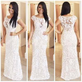Lindos Vestidos Em Renda Ideal Para Festa Noite Casamento