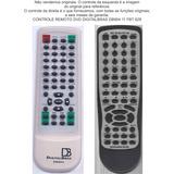 Controle Remoto Dvd Digitalbras Db904 11 Fbt 629